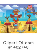 Royalty-Free (RF) Native American Clipart Illustration #1462748