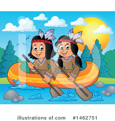 Native American Clipart #1462751 by visekart