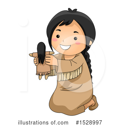 Native American Clipart #1528997 by BNP Design Studio