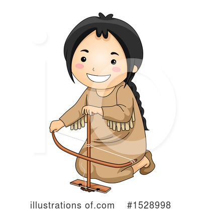 Native American Clipart #1528998 by BNP Design Studio