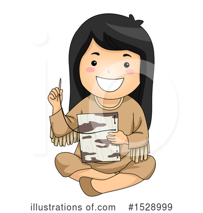 Native American Clipart #1528999 by BNP Design Studio