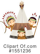 Native American Clipart #1551236