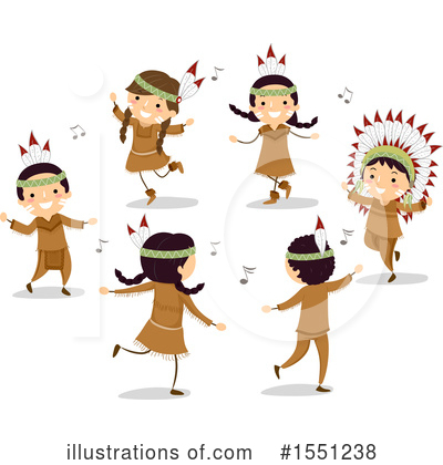 Native American Clipart #1551238 by BNP Design Studio