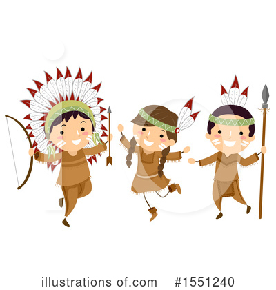 Native American Clipart #1551240 by BNP Design Studio