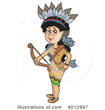 Native American Clipart #212997 by visekart
