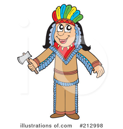 Native American Clipart #212998 by visekart