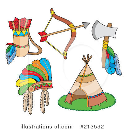 Native American Clipart #213532 by visekart