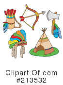 Royalty-Free (RF) native american Clipart Illustration #213532