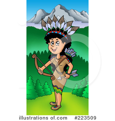 Native American Clipart #223509 by visekart