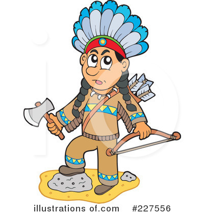 Native American Clipart #227556 by visekart