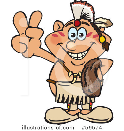 Native American Clipart #59574 by Dennis Holmes Designs