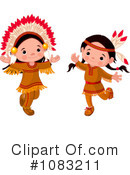 Royalty-Free (RF) Native Americans Clipart Illustration #1083211