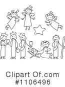 Nativity Clipart #1106496 by C Charley-Franzwa