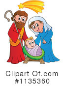 Nativity Clipart #1135360 by visekart