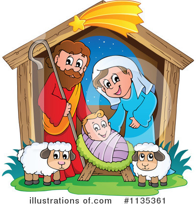 Nativity Clipart #1135361 by visekart