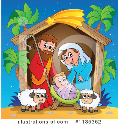 Nativity Clipart #1135362 by visekart