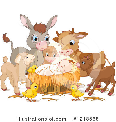 Nativity Clipart #1218568 by Pushkin