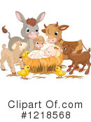 Royalty-Free (RF) Nativity Clipart Illustration #1218568