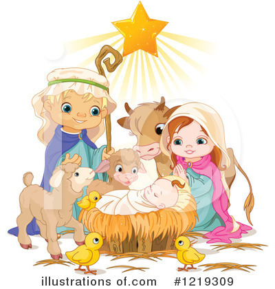 Nativity Clipart #1219309 by Pushkin
