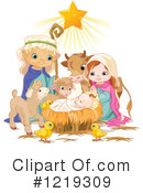 Royalty-Free (RF) Nativity Clipart Illustration #1219309