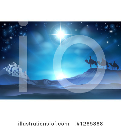 Nativity Scene Clipart #1265368 by AtStockIllustration
