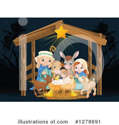 Nativity Clipart #1278691 by Pushkin