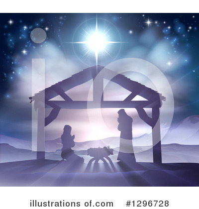 Nativity Clipart #1296728 by AtStockIllustration
