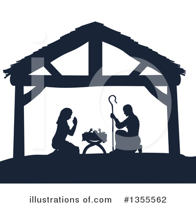 Nativity Clipart #1355562 by AtStockIllustration