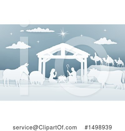 Nativity Clipart #1498939 by AtStockIllustration
