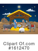 Nativity Clipart #1612470 by AtStockIllustration