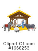 Nativity Clipart #1668253 by AtStockIllustration