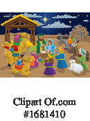 Nativity Clipart #1681410 by AtStockIllustration