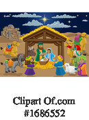 Nativity Clipart #1686552 by AtStockIllustration