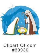 Nativity Clipart #69930 by Maria Bell