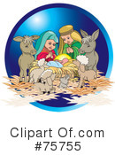 Nativity Clipart #75755