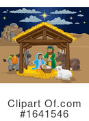 Nativity Scene Clipart #1641546 by AtStockIllustration