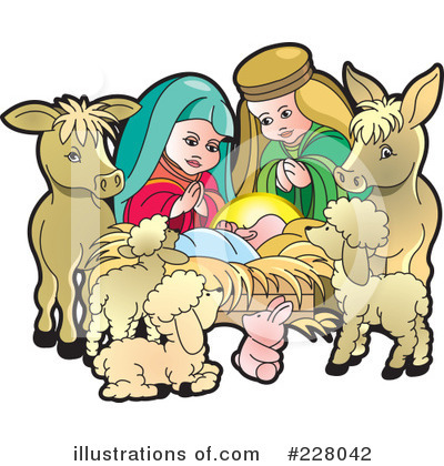clipart nativity scene.
