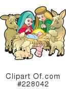 Nativity Scene Clipart #228042