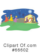 Nativity Scene Clipart #66602