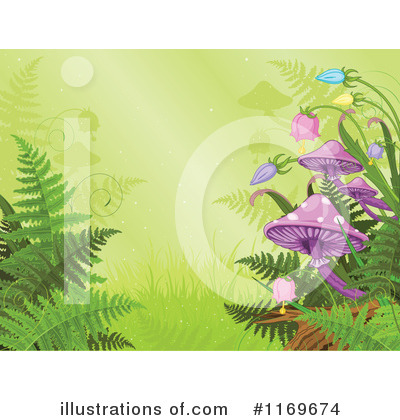 Ferns Clipart #1169674 by Pushkin