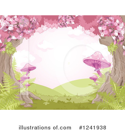 Cherry Blossoms Clipart #1241938 by Pushkin