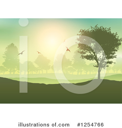 Forest Clipart #1254766 by KJ Pargeter
