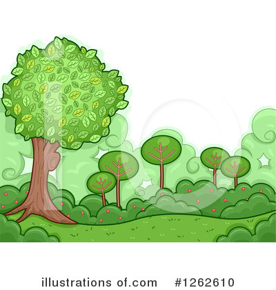 Trees Clipart #1262610 by BNP Design Studio