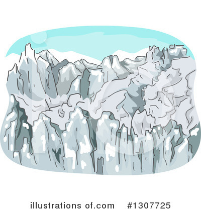 Mountains Clipart #1307725 by BNP Design Studio