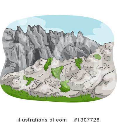 Mountains Clipart #1307726 by BNP Design Studio