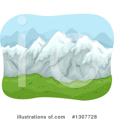 Mountains Clipart #1307728 by BNP Design Studio