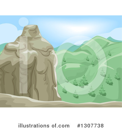 Mountains Clipart #1307738 by BNP Design Studio