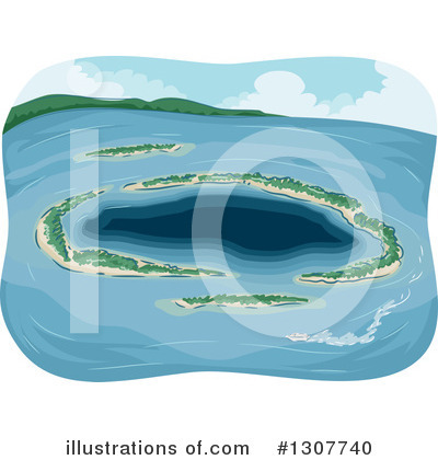 Island Clipart #1307740 by BNP Design Studio
