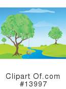 Royalty-Free (RF) Nature Clipart Illustration #13997