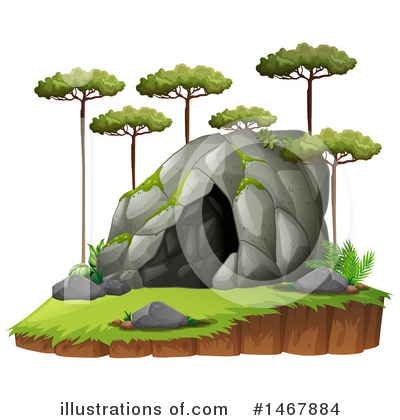 Cave Clipart #1467884 by Graphics RF